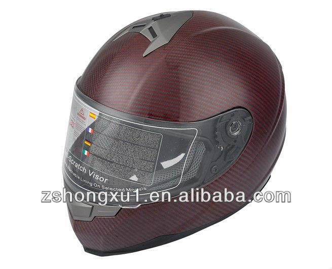 ECE Full Face Helmet with Carbon Fiber X304/305