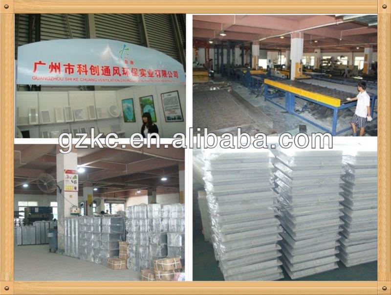 PVC plastic air grill
