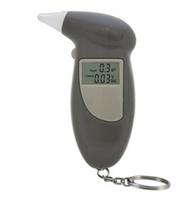 цифровой ЖК Алкоголь дыхание анализатор Алкотестер тестер брелок звуковые оповещения y1401