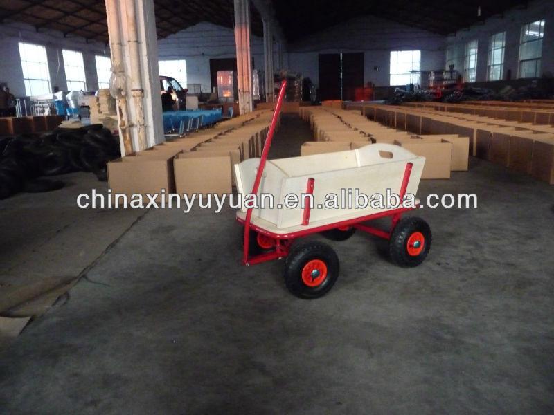 four wheel folding cart