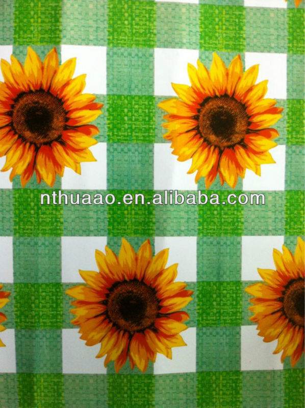 plastic table cover of laminated table cloth for 0.05mm to 3mm