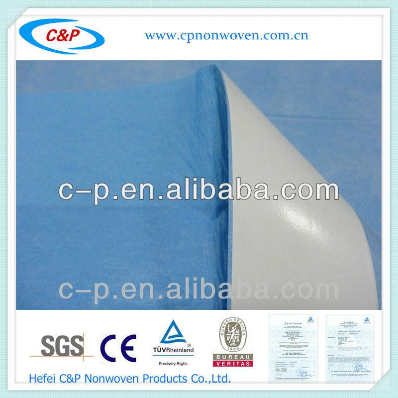 EO sterile single use non-woven viscose +PE side drape for Operating Room