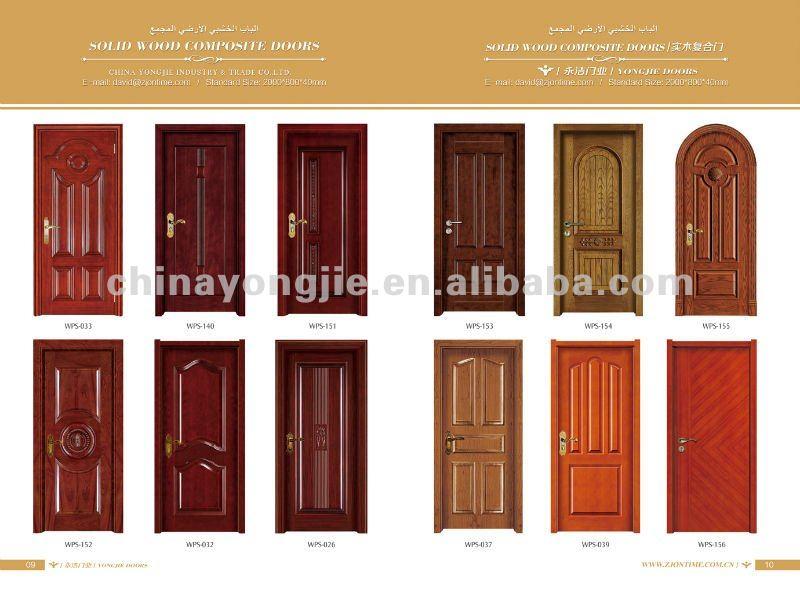Zhejiang Wholesale High Quality Nature Teak Wood Main Door