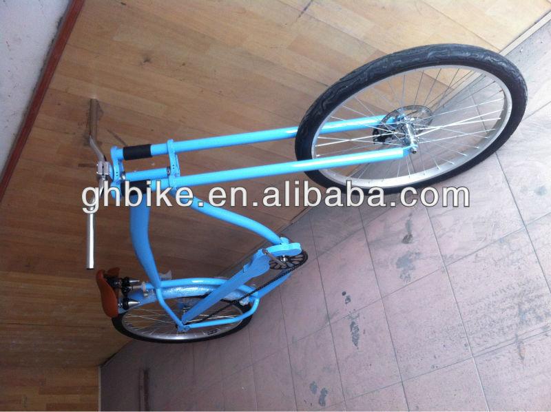 26 blue beach cruiser chopper bike