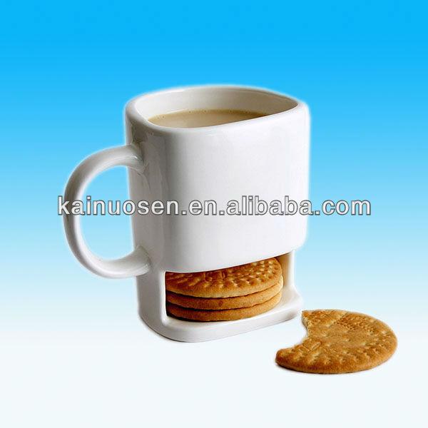 Mug with cookie holder view ceramic beard mug with cookie holder