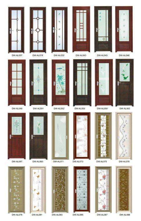 Puertas De Aluminio Para Baño Interior:Interior Da Porta de Alumínio NOVO DESIGN-Portas-ID do produto