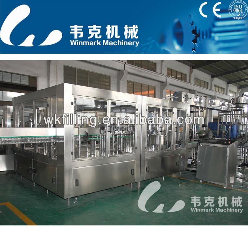 automatic juice filling line