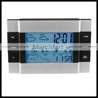 Настольные часы RF Wireless Weather Station indoor/outdoor Temperature Alarm Clock #OT308