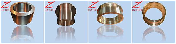 OEM Centrifugal Casting Bronze Shaft Collar