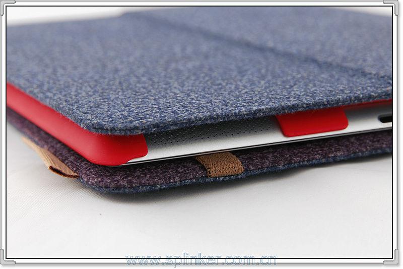 Hot Selling PU For Mini Ipad Case Folio Case U3501-125