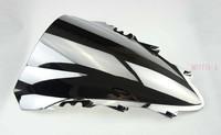 Ветровое стекло для мотоцикла Silver Chrome Windscreen Windshield For Yamaha YZF R1 2007 2008