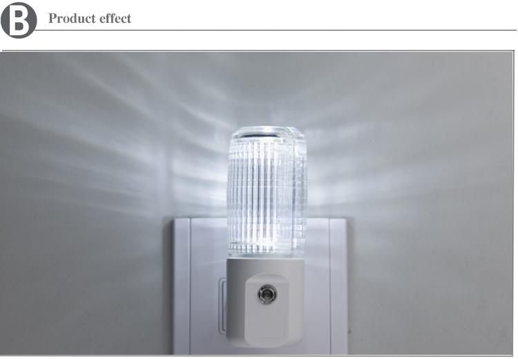 fibra óptica luz da noite