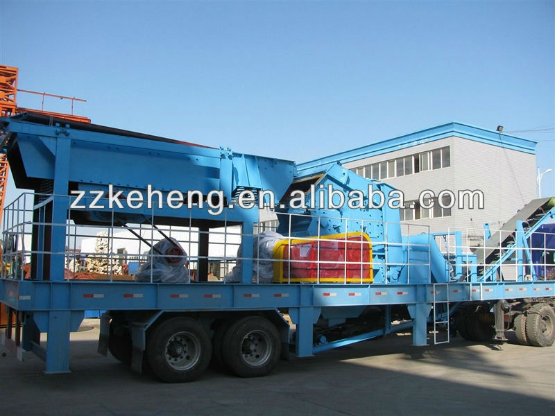 2013 China Nice performance mobile cone crusher for sale