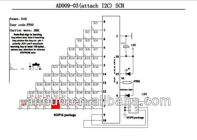 Ad009-03 пульт дистанционного