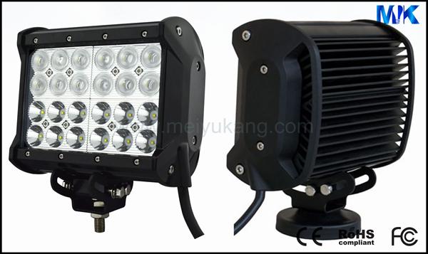 2013 NEW Four rows car lights IP67 5040lm 72W 12v 24v CREE 72w led light bar