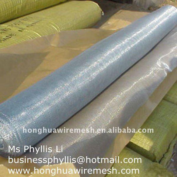 galvanized and aluminium mosquito iron wire netting