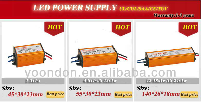 led waterproof led driver power supply IP67 30W/40W/50W/60W/70W/80W/90W/100W/120W/150W