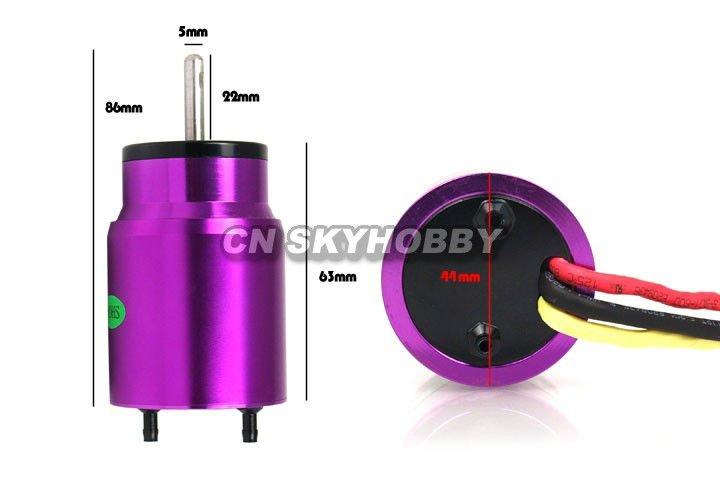 Motor water cooling bl3650 kv3300 бесщеточный inrunner rc