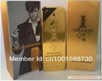 New million men perfume 100ml /3.4oz long scent original fragrance top perfume men One Million free shipping