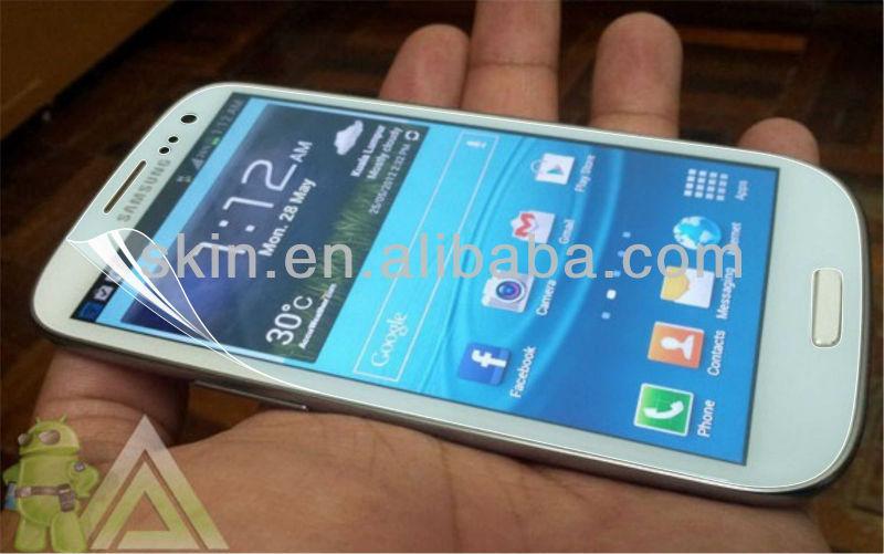Bulk cheap selling newt mobile phone screen protector S4