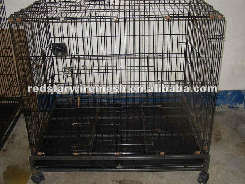 steel dog kennel