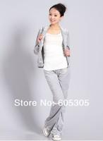 Женские толстовки и Кофты Velvet crown pattern movement Slim casual suits new Autumn 6243