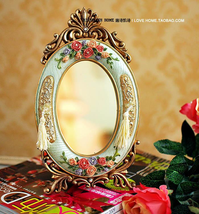 Настольное зеркало своими руками