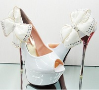 Туфли на высоком каблуке New Models 2012 Thin Heels Sexy Ladies Fashion Party Pumps Shoes 14CM Heeled Shoes for Women CC247