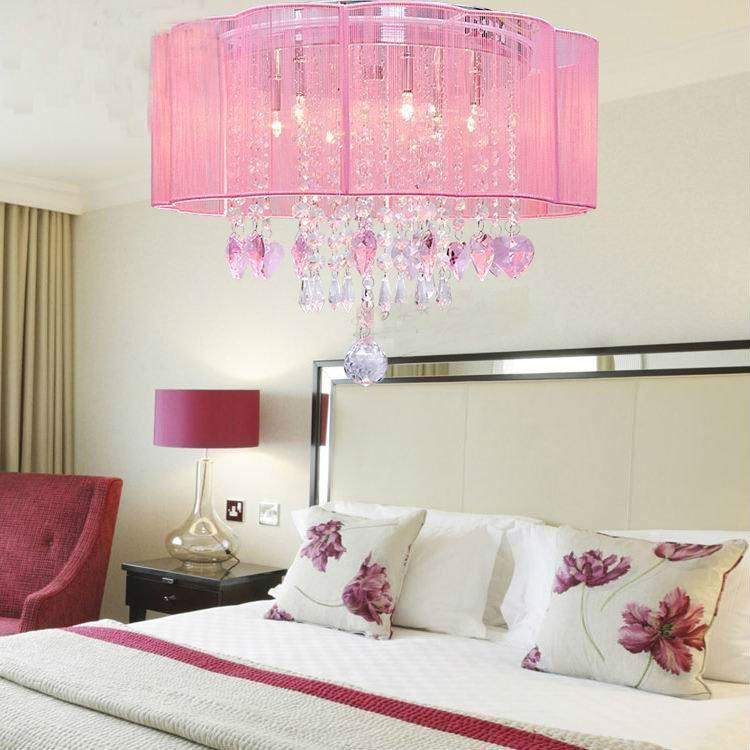 De lujo de cristal iluminaci n del hotel l mparas y luces - Lampara para dormitorio moderno ...