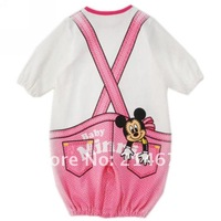 Summer Minnie/Mickey Romper for Baby Boys and Girl one-piece romper kid jumpsuits overall baby clothing