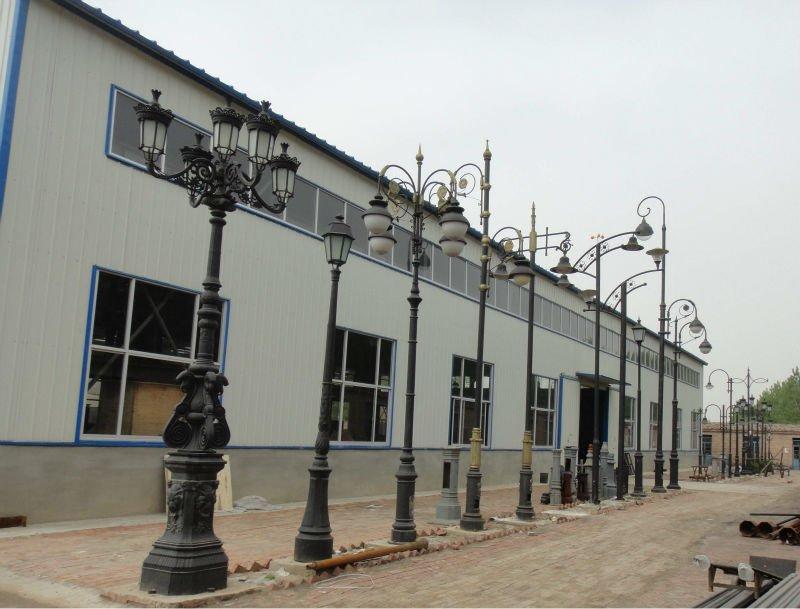 Antique decorative cast iron saudia arabian 6m street for Lampadaire exterieur fonte