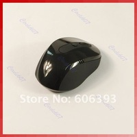 2.4G Mini USB Wireless Optical Mouse for PC Laptop, 10m can control Black freeshipping dropshipping