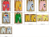 Шорты для девочек 2012 Summer children's clothes smiling face 7 minutes pants Suitable for 0-3 year baby pants KS017