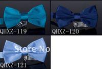 Женские воротнички и галстуки 2012 have solid cotton slik bow ties fastion new mens designer bow tie for women 200pcs/lot, fine workmanship, top quality