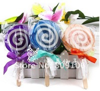 Мыло 10pcs/lot Lollipop creative handmade soap with stick, Handsoap soap, cartoons soap