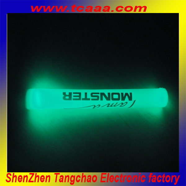 led color-changing foam glowing sticks for sport and party