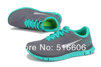 Женские кроссовки 2013 Run 4.0 v2 Running Brand Shoes and New with tag top quality unisex's shoes eur size :36-45 grey/green