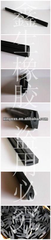 Rubber bumper strip