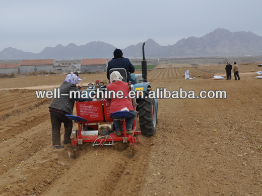 Hot sale efficient garden potato planter +0086 18838017833