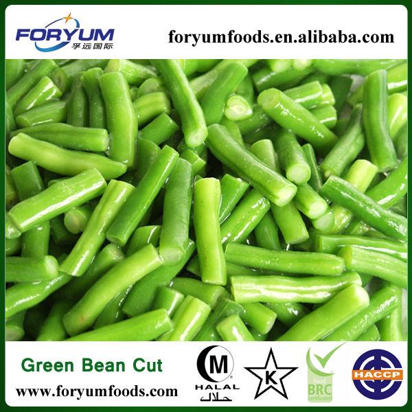Wholesale IQF Frozen Green Beans