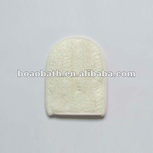 natural loofah bath sponge body scrubber bath strap
