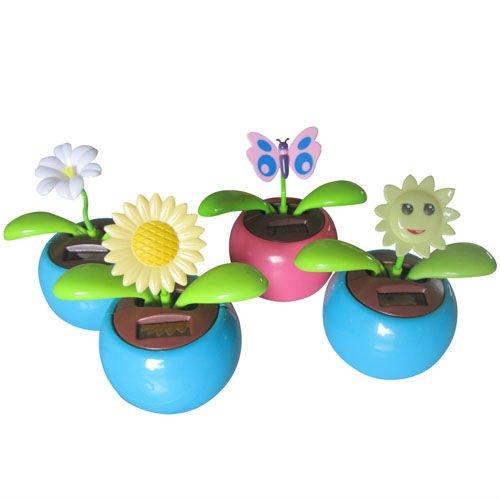 Solar Powered Dancing Flower India Plastic Solar Powered Dancing