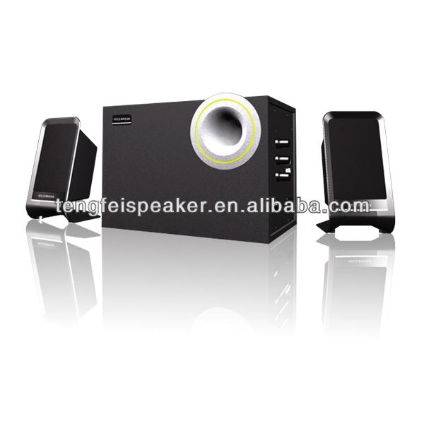 Poweful Sound!!! 2.1 subwoofer computer speakerGenerous designed& CE certification/TF-822