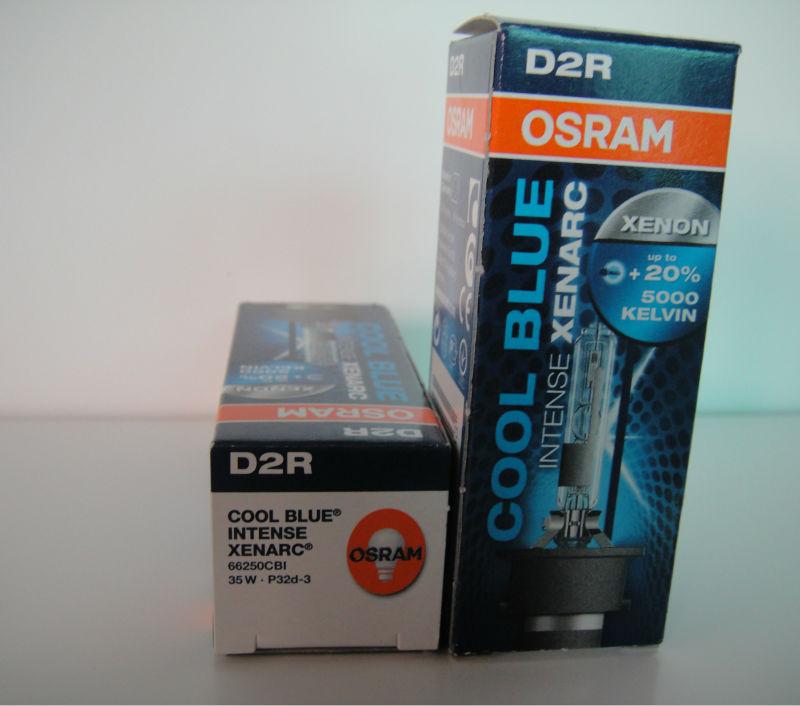 OSRAM Xenarc Cool Blue Intense D2R Lamp, View xenon bulb, OSRAM