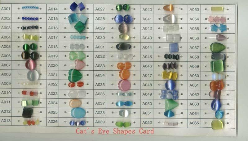 fiber optic cats eye gemstones