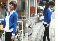 Женские блузки и Рубашки Korean style women Office Lady must have fashion simple all match shirt blouses/ 3008