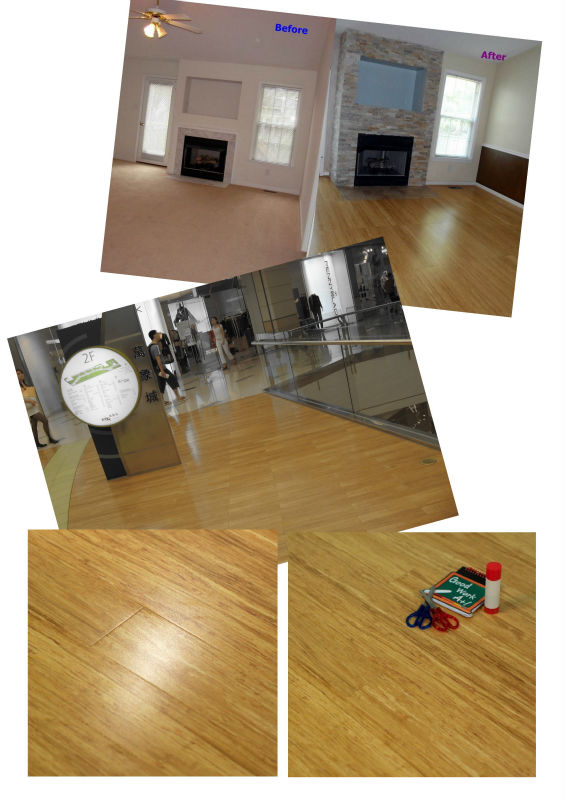2015 New Design CE ISO Certified High Quality from China Factory Engineered Flooring