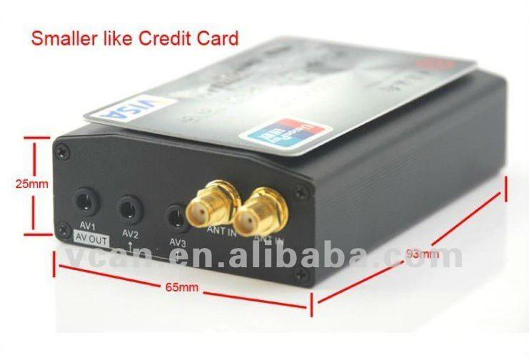 Car HD/SD MPEG4 Dual Tuner DVB-T TV receiver