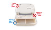 Ланчбоксы, Наборы посуды Free Shopping Single microwave Tableware lunch box lunch box portable elle romantic lunch box office