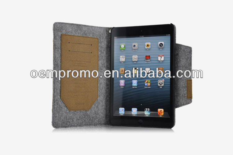 Hot tablet case for new ipad mini case, Stand cover tablet computer case
